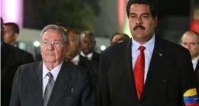Maduro y Raúl Castro han consolidado la alianza creada entre Chávez y Fidel|Foto: AP