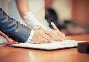 si al matrimonio