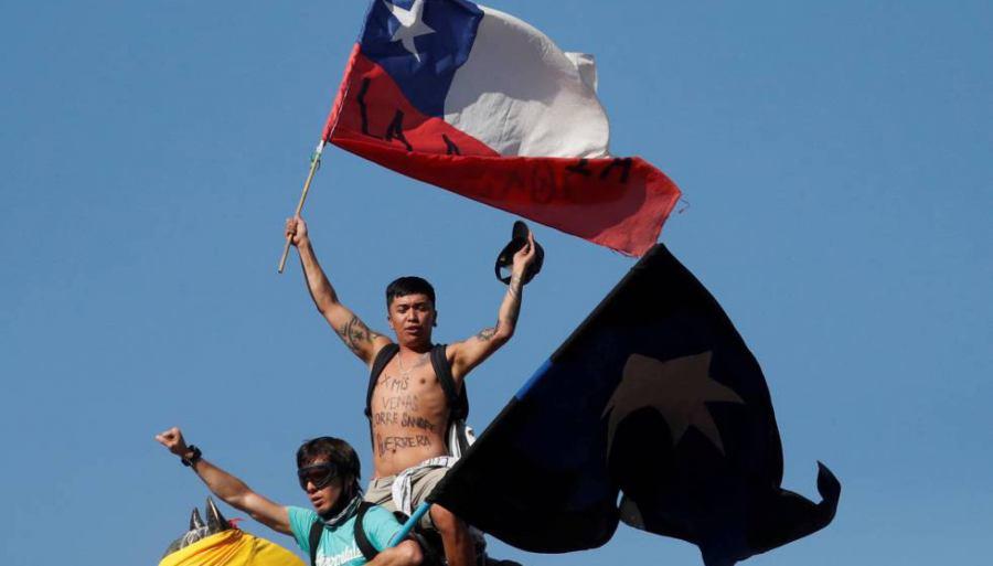 Se sienten los vientos de cambio en América Latina y los chilenos lo saben. GORAN TOMASEVIC REUTERS